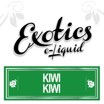 Kiwi Kiwi e-Liquid, Exotics, Fruit eJuices, eCig, electronic cigarette, vaping