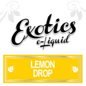 Lemon Drop e-Liquid, Exotics, eJuice, Fruit, Vape, Vaping, eCig