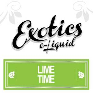 Lime Time e-Liquid, Exotics, Vape, Vaping, Fruit eJuice, eCig