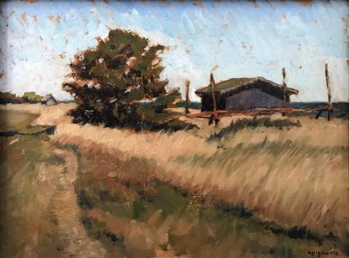 Öland, 2016. Oil on panel. 40x30 cm.