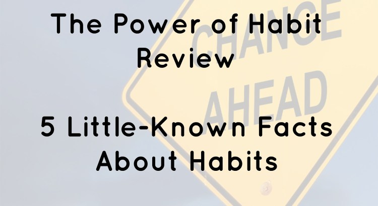 The Power Of Habit Review Giveaway