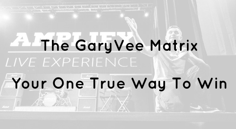 GaryVee Matrix Header