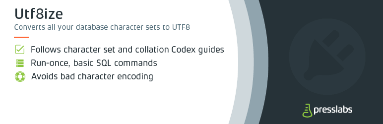 Convert your WordPress Database Charset and Collation to utf8