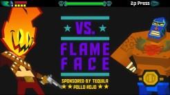 Gli scontri con i boss sono anticipati da una simpatica schermata stile picchiaduro!