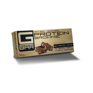 Протеинов бар G-BAR Brownie - банан