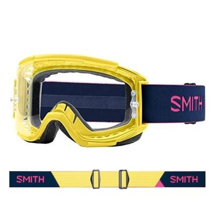 SMITH Squad mtb citron indigo single clear