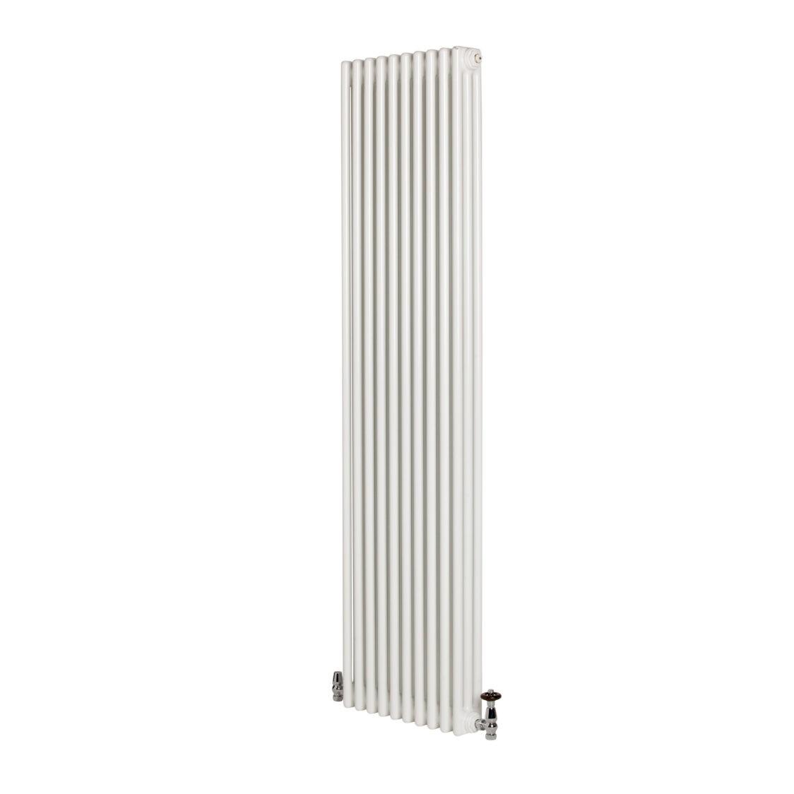 Revive 3 Column Vertical Radiator White H2000mm W490mm