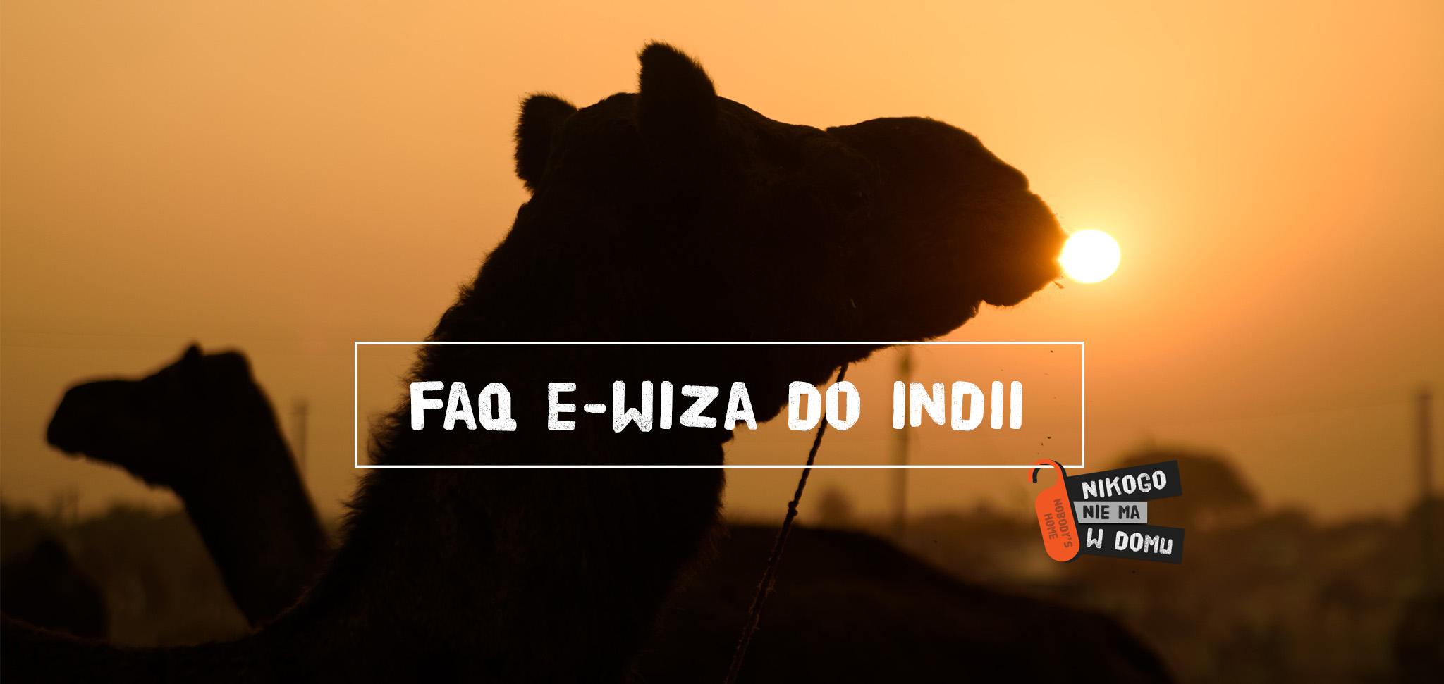 FAQ e-wiza do Indii