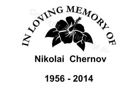 Your Memories of Nikolai Chernov (November 10, 1956