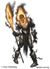 Pathfinder - BURNING KNIGHT OF MOLOCH
