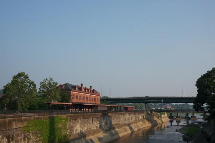 Western Maryland Railyway Station