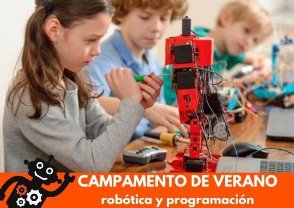Campamento de Robótica en verano Mairena del Aljarafe Nikola Tech