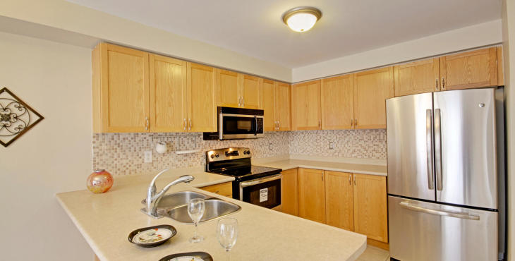 All Brand New Stainless Steel Appliances