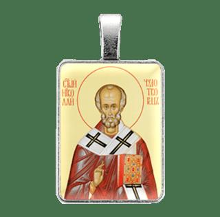 Ежедневная нательная икона Св. Николай Чудотворец