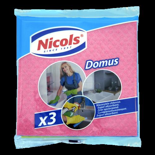 Ściereczki Nikols Domus 3 szt.