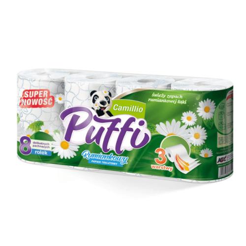 Papier Toaletowy Puffi Camillio 64 szt.