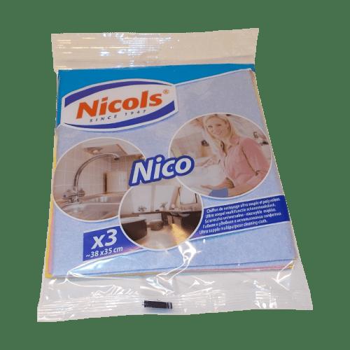 Uniwersalne ściereczki Nicols-Nico-3 szt