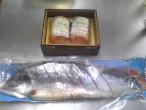 田中様 ハム 紅鮭