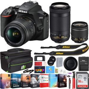 Nikon D3500 two lenses bundle