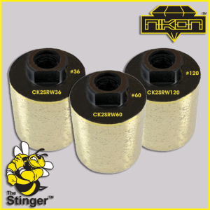 The Stinger Stock Removal Wheels by Nikon Diamond Tools for Granite, Natural Stone
