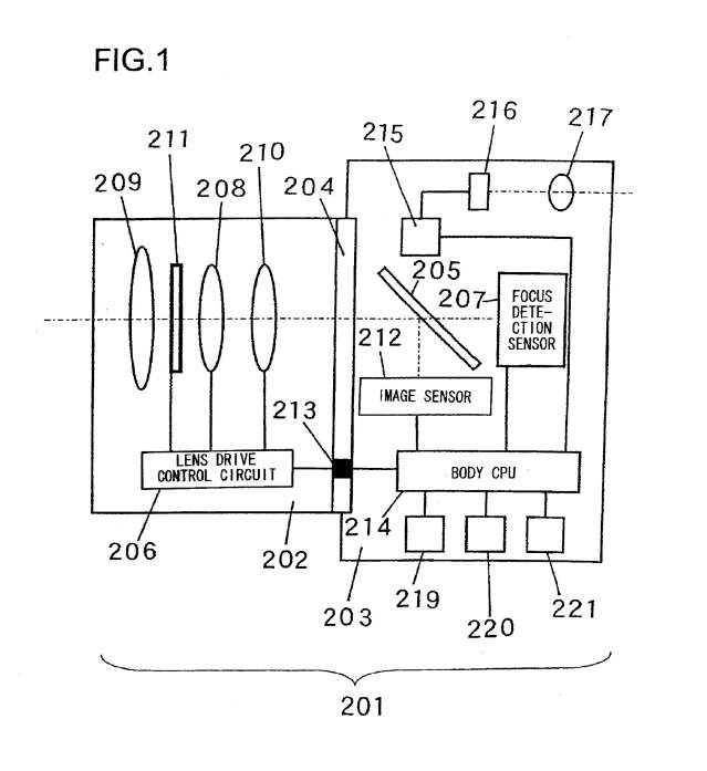 Continuous AF in video mode/live view patent (used in the