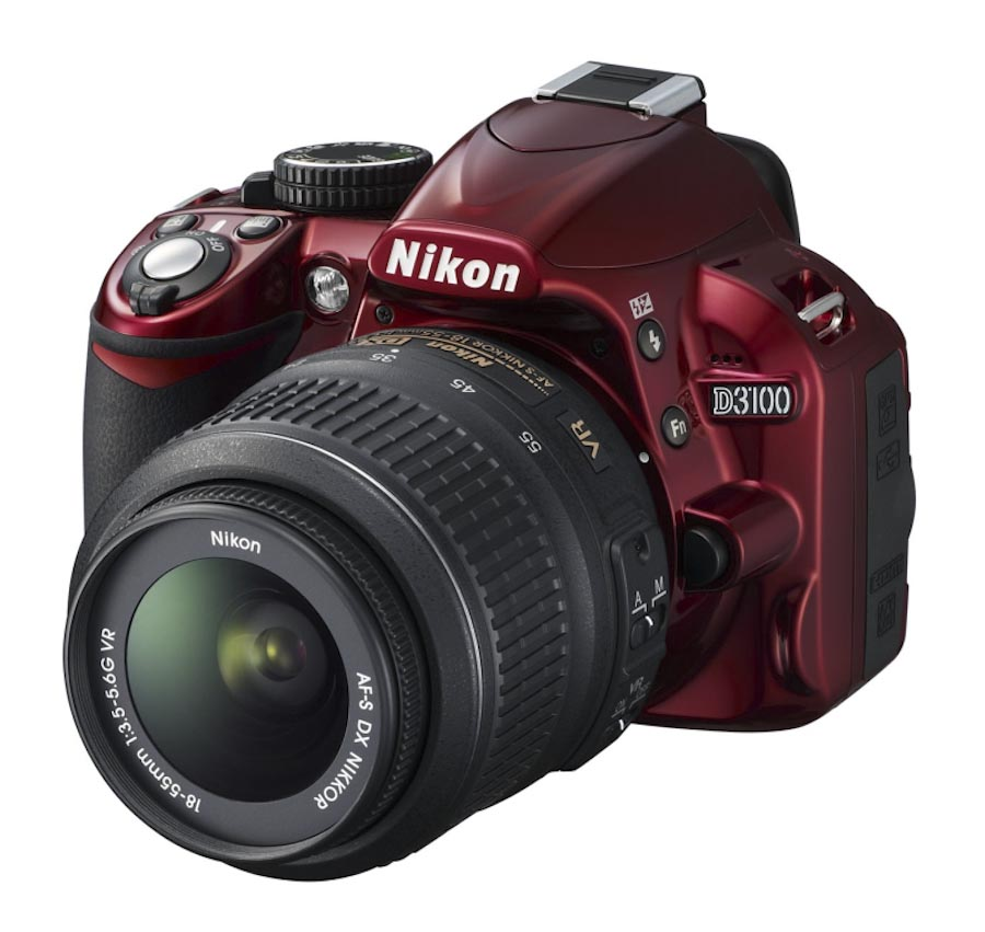 More on the red Nikon D3100 camera | Nikon Rumors