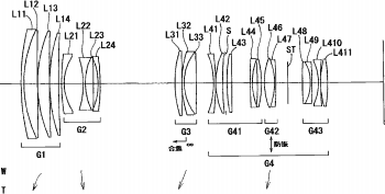 Nikon patent for a 55-300mm f/2.8-4 full frame lens