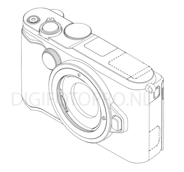 New design patent reveals Nikon 1 mirrorless camera with a
