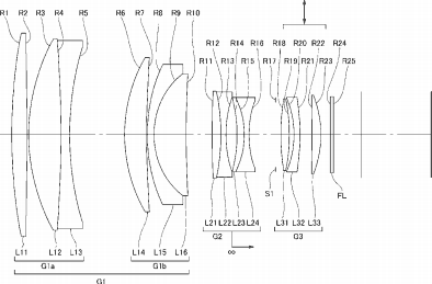 More Nikon patents for telephoto lenses with fluorite (FL