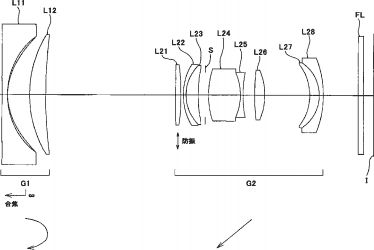 Interesting: Nikon filed a patent for a full frame