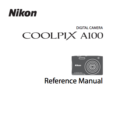 Nikon Coolpix A10 and A100 camera manuals leaked online