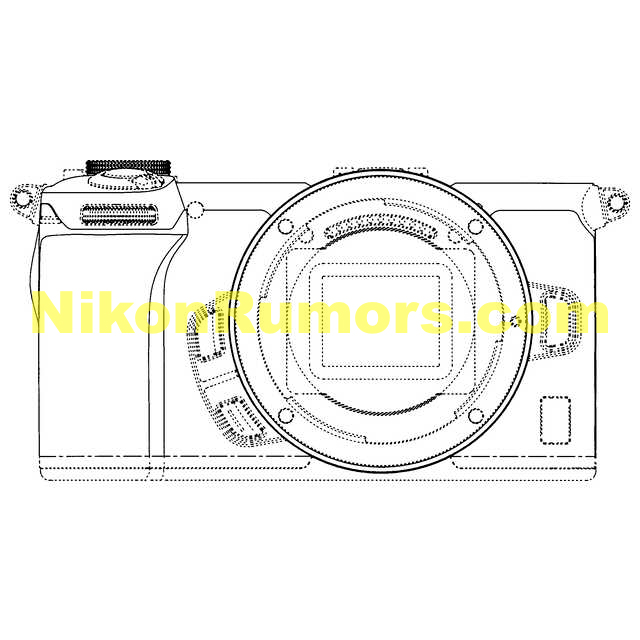 Nikon has design patents for two different APS-C