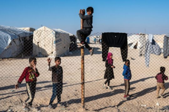 Children of defeated Islamic State militants in the Al-Hol refugee camp, Syria late 2019 / Z6, 35mm, f3.5, ISO 200