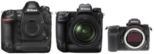 Nikon Z camera comparisons by RC Jenkins