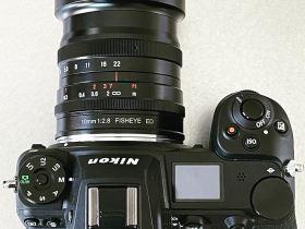 Il nuovo obiettivo mirrorless full frame fisheye 7artisans 10mm f/2.8 per Nikon Z-mount è di nuovo aperto per i preordini