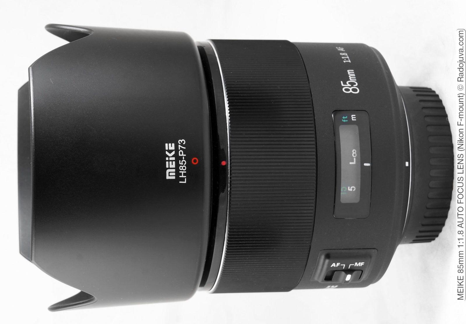 Meike MK 85mm f / 1.8 AF full-frame obiettivo per Nikon F-mount breve recensione con molte foto di esempio