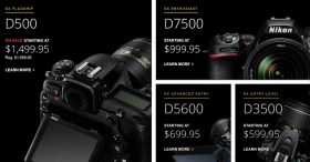 Le fotocamere e gli obiettivi Nikon DX stanno lentamente scomparendo