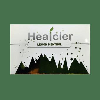 Healcier лимон ментол пачка