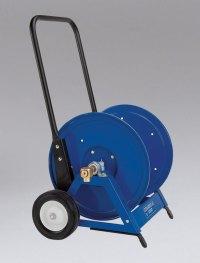 860817 - Heavy Duty Hand Hose Reel w/Cart