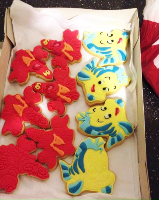 nilaholden disney sweets & cakes flounder biscuits
