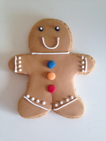 Harrods Christmas 2016 Gingerbread Man Biscuit