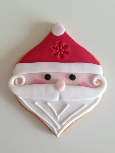 Harrods Christmas 2016 Santa Biscuit