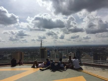 KICC - über den Dächern von Nairobi