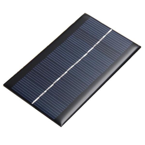 6V-1W (160mA) Solar Panel 110x60 (Water Proof)