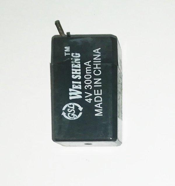 4V 300mA Sealed Pb-acid Battery
