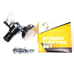 Dynamo Lighting Set (8 Pole Dynamo)
