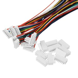 JST wire connectors 2.54mm with socket