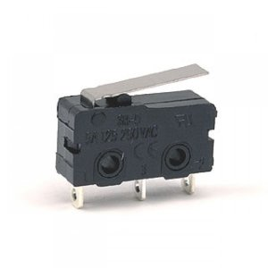 Limit Switch with Short Lever (Medium-3A 250VAC)