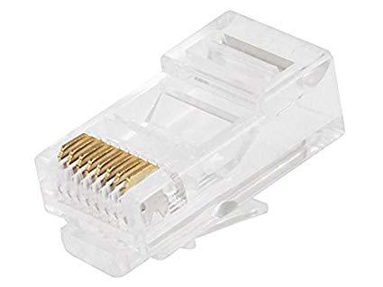 RJ45 ORIGINAL Socket (AMP-USA) (Network Cable Connector)