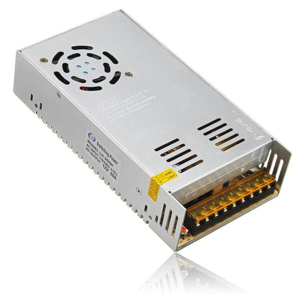 12V 30A AC to DC Power Supply (Metal Housing-Switch Mode)